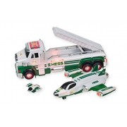 2014 Hess Toy Truck And Space Cruiser With Scout Already Gift Wrapped in Green Hess Color! by HESS