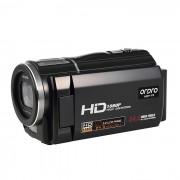 """Ordro HDV-F5 portatil 1080P 3 """"Videocamara pantalla tactil - Negro"""