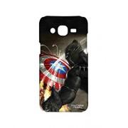 Licensed Marvel Comics Black Panther Premium Printed Back cover Case for Samsung J5