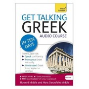 Get Talking Greek in Ten Days Beginner Audio Course by Hara Garoufalia-Middle