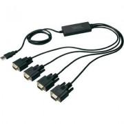 USB 2.0 kábel 1.5 m fekete (989065)