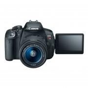 Camara Reflex Digital Canon EOS Rebel T5i 18MP con Lente 18-135 mm-Negro + Tarjeta de memoria Sd 16 gb-Azul
