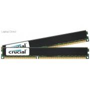 Crucial 32GB(2x16GB) DDR3L 1600MHz VLP Registered ECC DIMM PC3-12800 CL=11 1.35V Server Memory Module