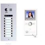 Anykam ED16+ DT16 Video Türsprechanlage Videosprechanlage 16-Familienhaus 2Draht