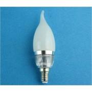 Bec 3x1W,cu radiator aluminiu, E14