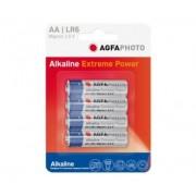 Pilas Alcalinas AA Agfaphoto pack 4uds (LR06)