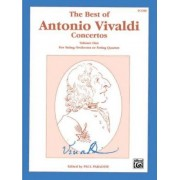 The Best of Antonio Vivaldi Concertos (for String Orchestra or String Quartet), Vol 1 by Paul Paradise