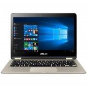 "ASUS Transformer Book Flip TP301UA 13.3"" Ultra Slim 2-in-1 Full HD Touchscreen Notebook Computer, Intel Core i5-6200U 2.3GHz, 6GB RAM, 256GB SSD, Windows 10, Icicle Gold"