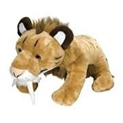 Wild Republic Europe 84 cm Cuddlekins Smilodon Sabre-Toothed Cat Jumbo Plush