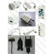 Комплект 'MINI'USB зарядни+кабел за iPod iPhone 4 2-3GS