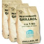 Restaurangkol 15 kg (3x5kg)