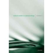 Oxford Studies in Epistemology: v. 3 by Tamar Szabo Gendler