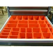 Schaller Boxes Schaller 33 Pc Red Plastic Box Assortment . 3 Deep . Five (5) Sizes