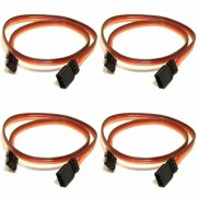 4 x Quantity of 15CM Servo Lead Extension (JR) 26AWG (Servo Connector) Wire Cable - FAST FREE SHIPPING FROM Orlando