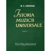 Istoria muzicii universale (3 vol.)
