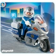 4261 - PLAYMOBIL - Motorcycle Policeman