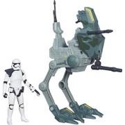 Funskool Star Wars E7 3.75 Class I Vehicles - Assault Walker & Strom Trooper (Multicolor)