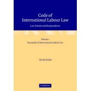 Code of International Labour Law: v. 1 & 2 by Neville Nordau Rubin