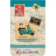 Bon Voyage Mini Journal by Clare Goddard