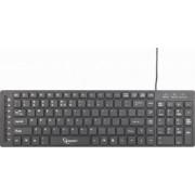 Tastatura Multimedia Gembird KB-MCH-01 Neagra