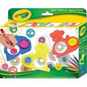 Crayola - Spir'Animal Disegna e colora, animali con lo Spirografo