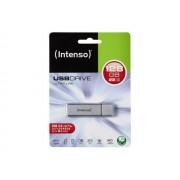 INTENSO stick USB flash 128GB USB3.0 Ultra line gri-metalizat