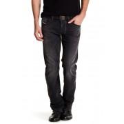 Diesel Larkee Regular Straight Jean BLACK-DENI