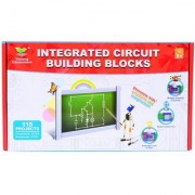 Planet Of Toys Learning Science Integrated Electronic Circuit Building Blocks - Create Exciting Projects - 115 Projects For Kids / Children