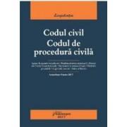 Codul civil. Codul de procedura civila act. 8 iunie 2017