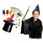 Marvellous Magicians Kit for Children to Perform More than 40 Magic Tricks. Compact and Portable.