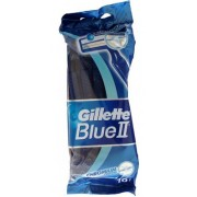 GILETTE BLUE II MAQUINILLAS AFEITAR DESECHABLES 10 UDS