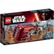 Конструктор Лего Стар Уорс - Спийдъра на Рей - LEGO Star Wars, 75099