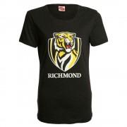 AFL Ladies Printed Logo Tee Richmond Tigers [Size:10]