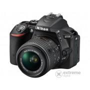 Aparat foto Nikon D5500 (AF-P 18-55mm VR), negru, 3 garanție body