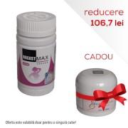 BreastMax (60 capsule) + 1 BreastActives Cream cadou