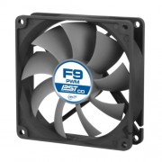 Arctic F9 92mm PWM Controlled Dual Ball Bearing Standard Case Fan (Black)