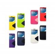 Funda Diary View Roar para Samsung Galaxy Alpha-Multicolor
