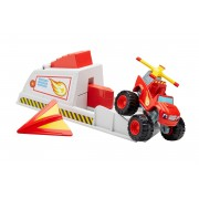 Mattel Blaze en de Monsterwielen transforming turbo launcher