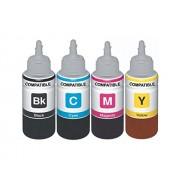 EPSON (70ml) INK SET FOR L100/L110/L200/L210/L220/L300/L350/L355/L365/L550 (COMPATIBLE)