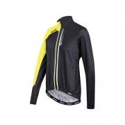 Santini Guard 2.0 Waterproof Windbreaker Jacket - Black/Yellow - L