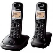 Telefon DECT PANASONIC KX-TG2512FXT, negru, fara fir