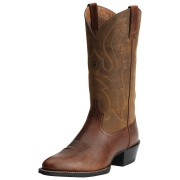 Ariat Sport R Toe Boots - 9.5 - Brown - 10015295