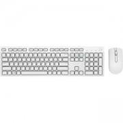 Клавиатура Dell KM636, Wireless + Мишка, Бели, 580-ADGF
