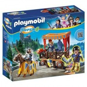 Playmobil Super 4 Royal Tribune With Alex Figure Building Kit