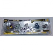 Star Wars Titanium Series Five Pack With Raw Metal AT-RT (Wal-Mart Exclusive)