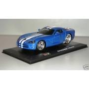 bburago Dodge Viper SRT-10 azul 1:32