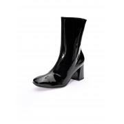 Paul Green Stiefelette aus Kalbslackleder Paul Green schwarz