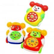 Yarui-World® 1 Pcs Bébé Enfant Éducatif Apprentissage Simulé Téléphone Mobile Jouets Jouant Jeux Couleur Aléatoire