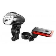 Red Cycling Products Bike Eye LED Beleuchtungsset schwarz 2017 Batteriebeleuchtung Set