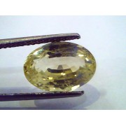 7.77 Ct Unheated Untreated Natural Ceylon Yellow Sapphire Pukhraj